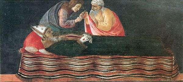 提取圣伊格内修斯的心脏   桑德罗波提切利