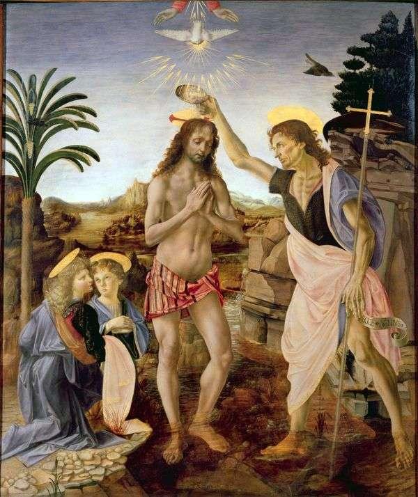 基督的洗礼   安德烈亚德尔维罗基奥