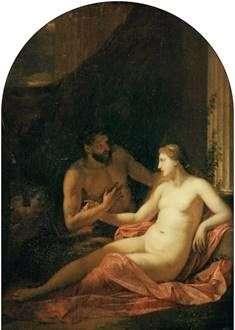 Hercules和Dejanira   Adrian van der Werff