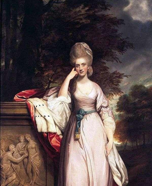 安娜,Viscountess Townshend(安娜蒙哥马利)   雷诺兹约书亚