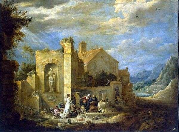 圣安东尼的诱惑   大卫特尼尔斯