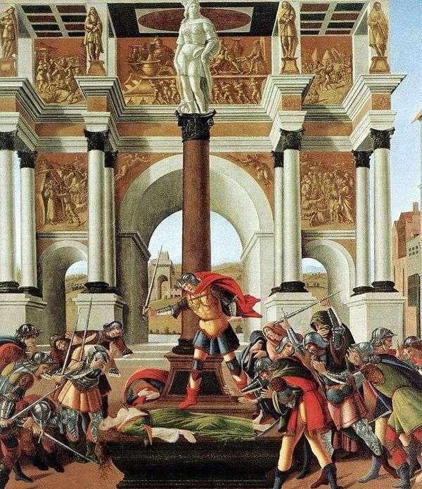 Lucretia的历史   Sandro Botticelli