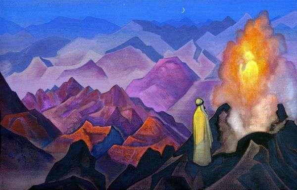 希拉山上的Mahomet   Nicholas Roerich