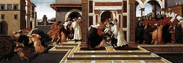 St. Zinovy的历史   Sandro Botticelli