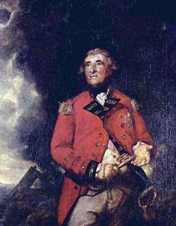 希思菲尔德勋爵,直布罗陀总督   雷诺兹约书亚
