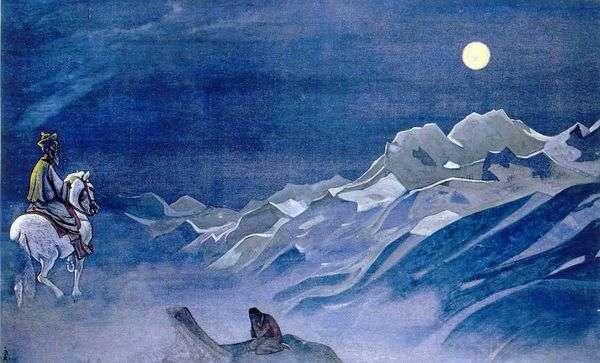 白色Burkhan的Oirot messenger   Nikolay Roerich