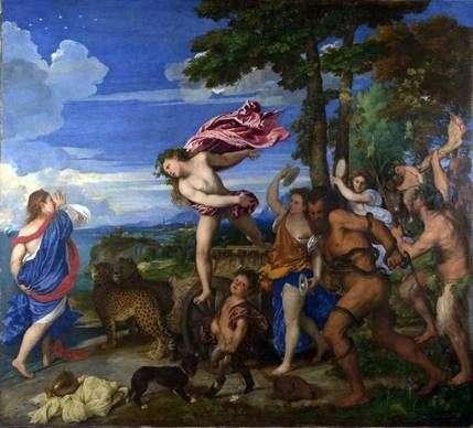 Bacchus和Ariadna   提香Vecellio