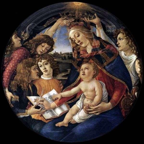 Madonna Magnificat   Sandro Botticelli
