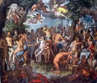Peleus和Thetis订婚   Joachim Eyteval