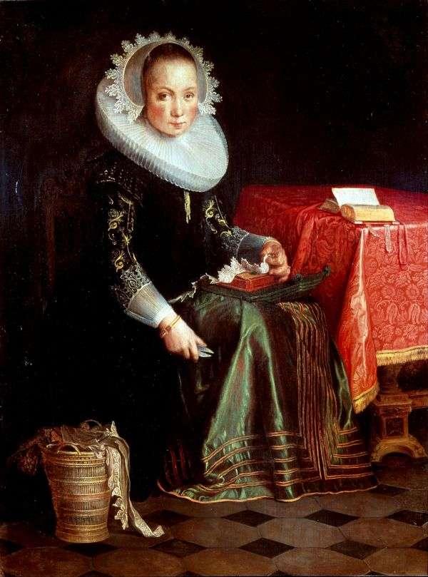Eva Eyteval的肖像   Joachim Eyteval