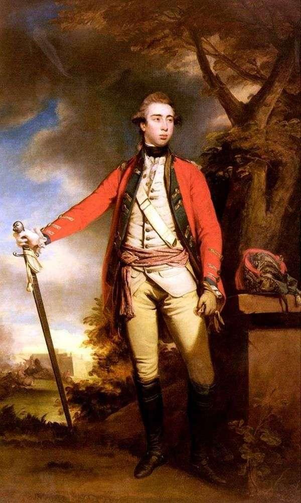 Ferrers勋爵的肖像   雷诺兹约书亚