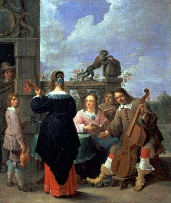 家庭艺术家   David Teniers