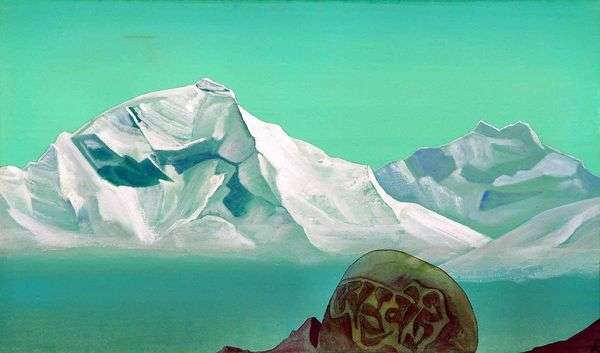 通往Kailash的路   Nicholas Roerich