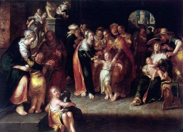 基督和孩子们   约阿希姆 艾特瓦尔