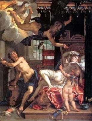 木星和达那厄   约阿希姆 艾特瓦尔