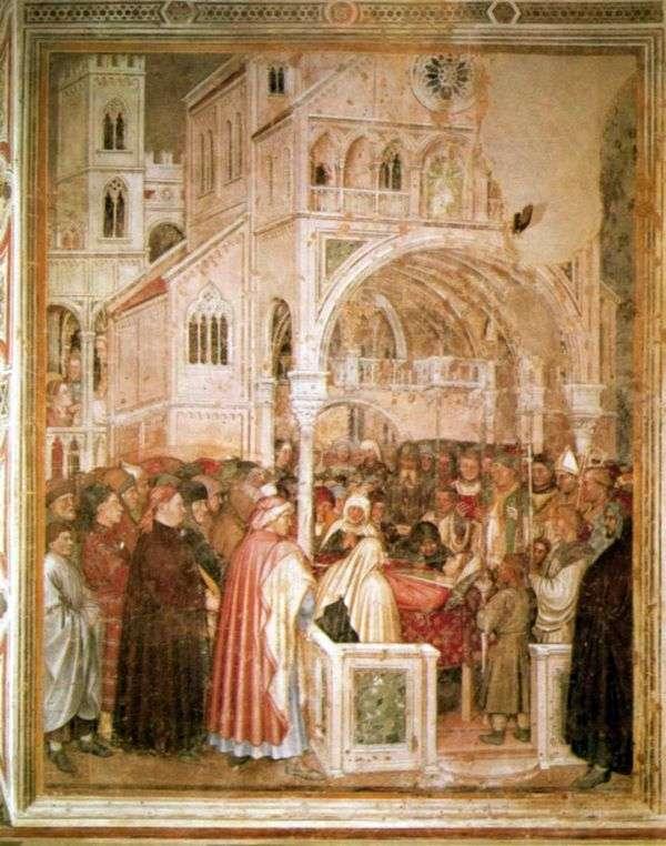 圣卢西亚临终前。1379 84   Altiquiero da Zevio