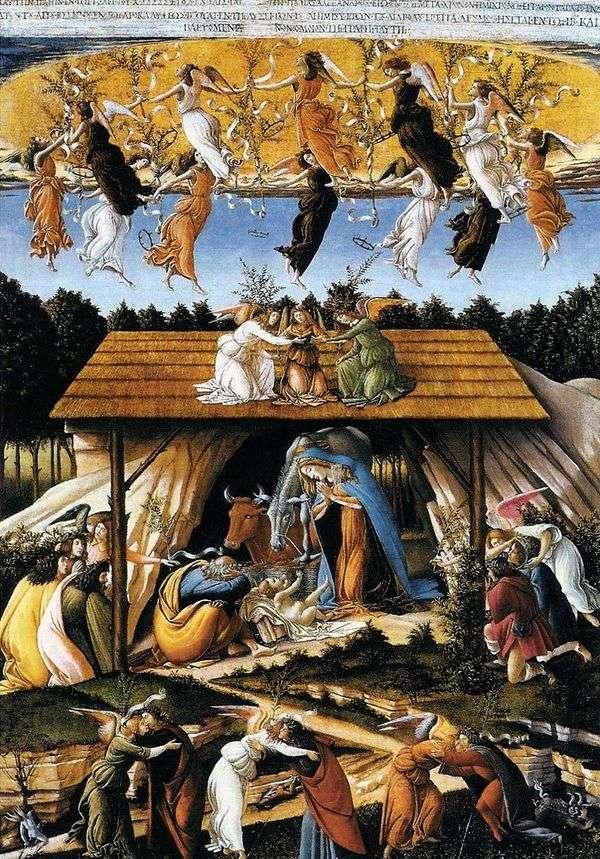 神秘的圣诞节   桑德罗波提切利