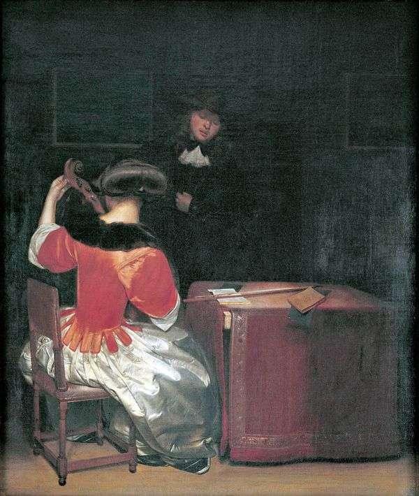 音乐课   Gerard Terborch