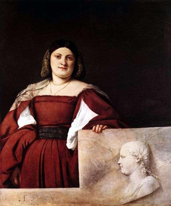 一名妇女的画象   提香Vecellio