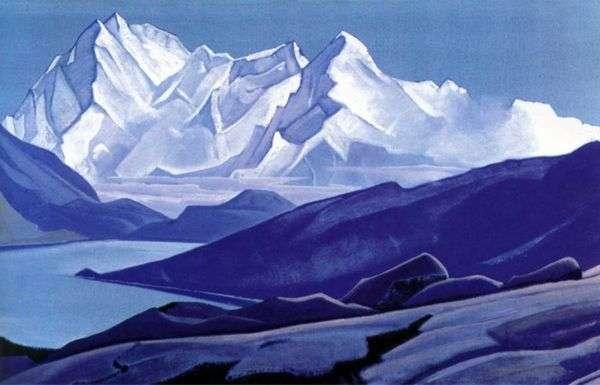 神圣的喜马拉雅山脉   Nicholas Roerich