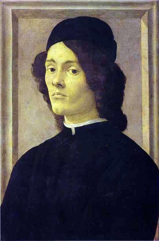 男人肖像   桑德罗波提切利