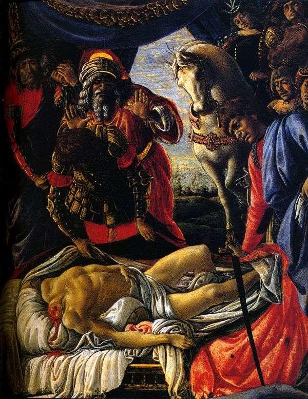 寻找Holofernes的身体   Sandro Botticelli