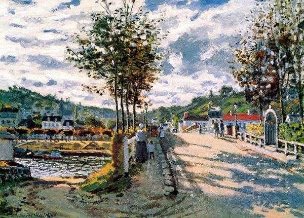 塞纳河附近的塞纳河   克劳德莫奈