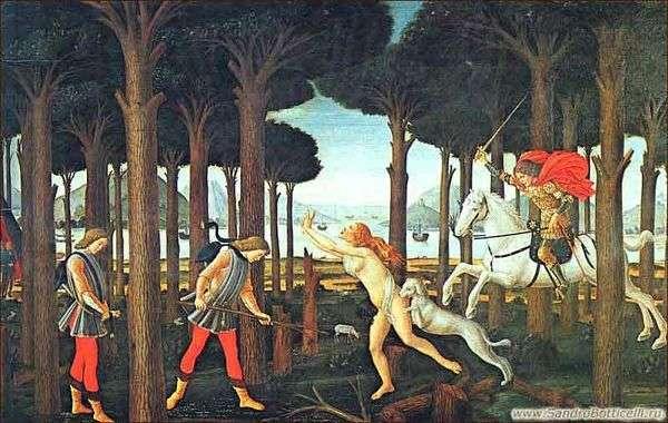 Nokula BoccaccioNastajo degli Onesti的第一集   Sandro Botticelli