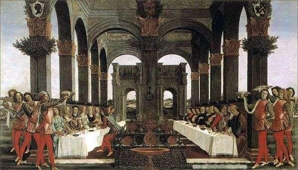 Nokla BoccaccioNastajo degli Onesti第四集   Sandro Botticelli