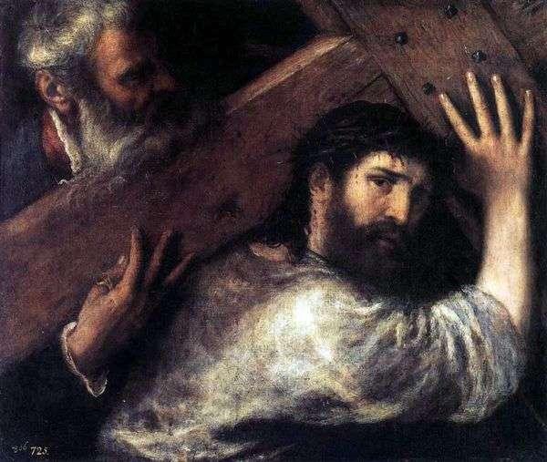 携带十字架   提香Vecellio