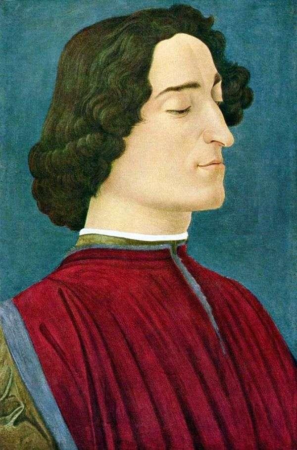 Giuliano Medici的肖像   Sandro Botticelli