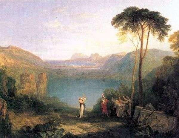 阿文湖:埃涅阿斯和库玛精神   威廉特纳