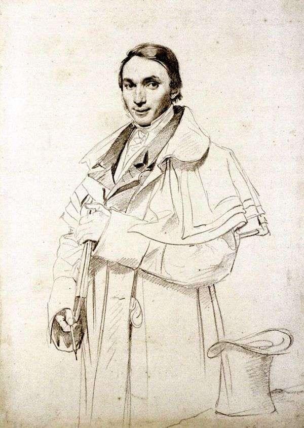 Foresta先生的肖像   Jean Auguste Dominique Ingres