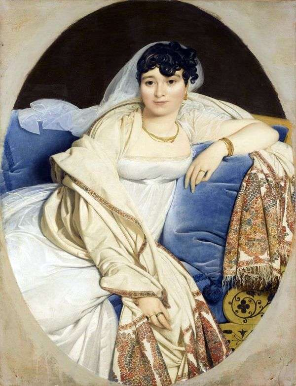Rivière夫人的肖像   Jean Auguste Dominique Ingres