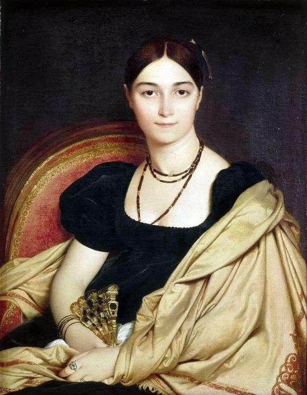 Devos夫人的肖像   Jean Auguste Dominique Ingres