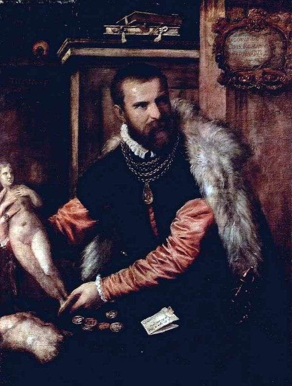 古董雅各布斯特拉达   提香Vecellio的画像