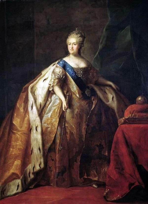 女皇凯瑟琳二世的肖像   彼得Drozhdin