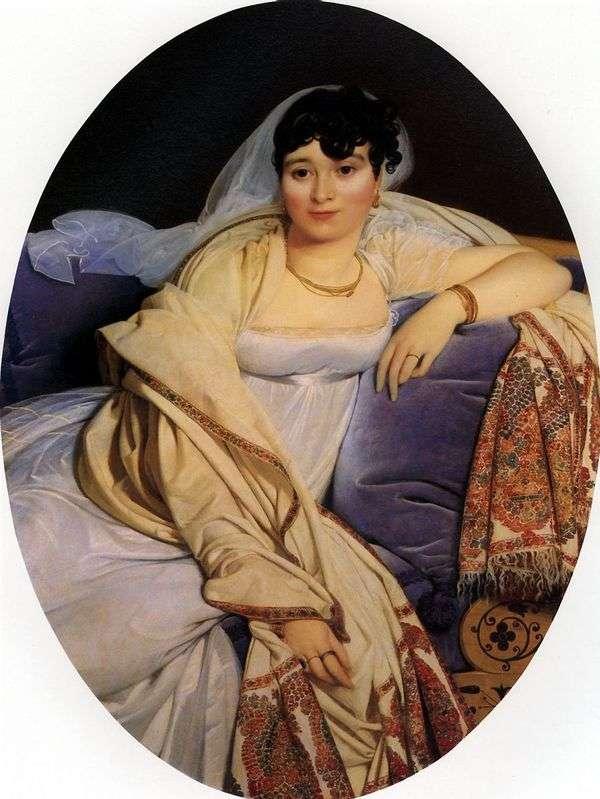 里维埃夫人的肖像   让 奥古斯特 多米尼克 安格尔