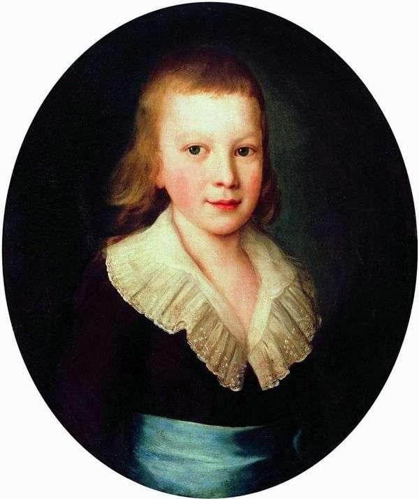 男孩的肖像   彼得Drozhdin