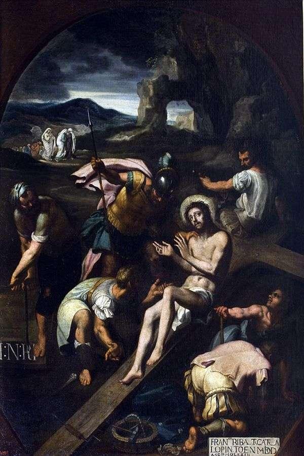钉在十字架上   弗朗西斯科 里巴尔塔