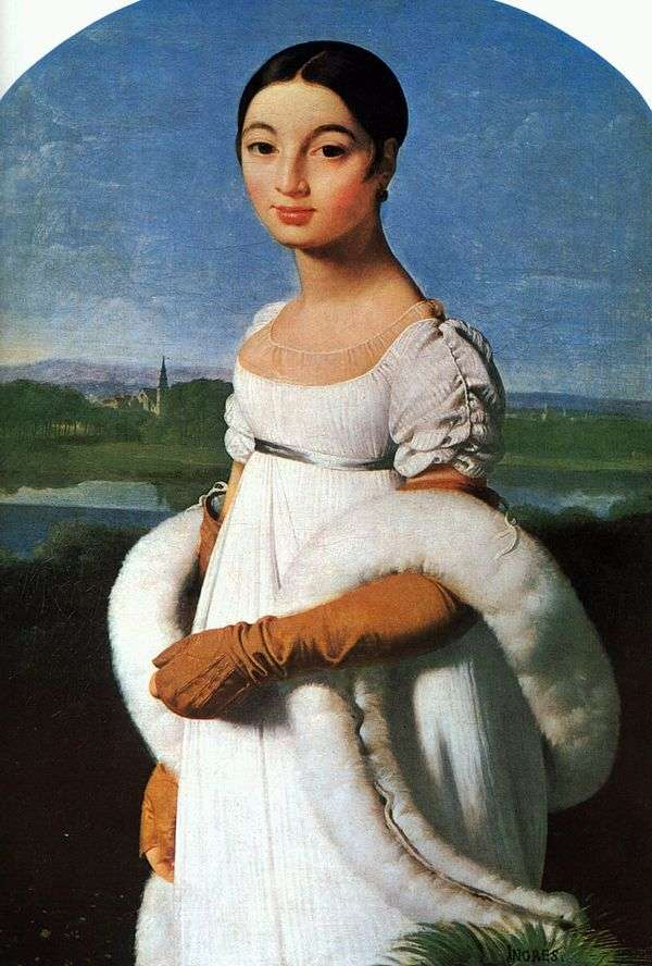 MademoiselleRivière的肖像   Jean Auguste Dominique Ingres