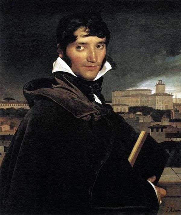 艺术家Francois Marius Granet的肖像   Jean Auguste Dominique Ingres