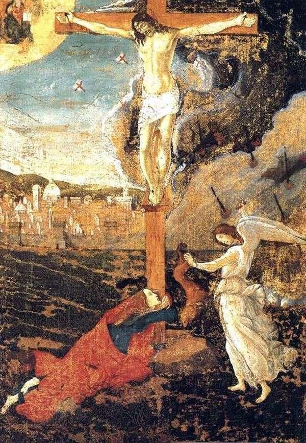 被钉十字架   桑德罗波提切利