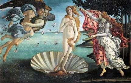 金星的诞生   桑德罗波提切利