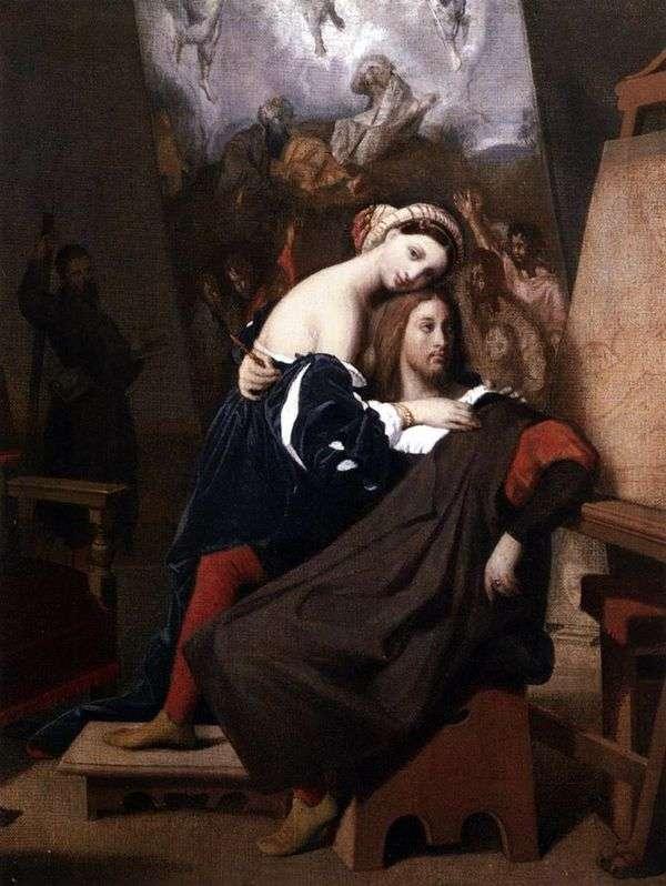 Raphael和Fornarin   Jean Auguste Dominique Ingres