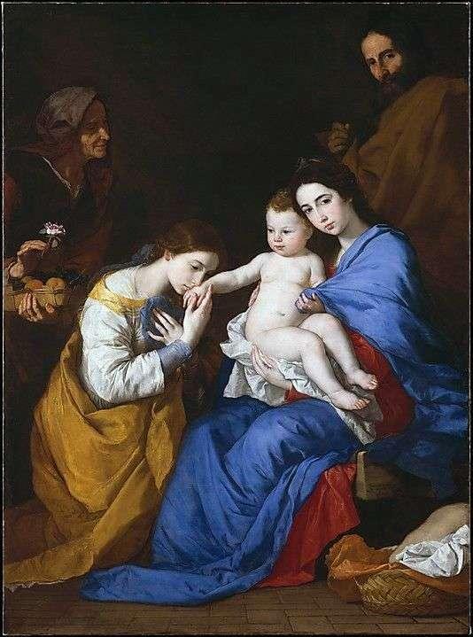 Sv的神秘订婚。亚历山大的凯瑟琳   Jusepe de Ribera