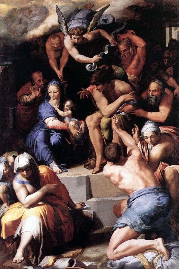 对婴儿基督的崇拜   佩莱格里诺蒂巴尔迪