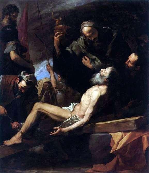 使徒安德鲁的殉难   Jusepe de Ribera