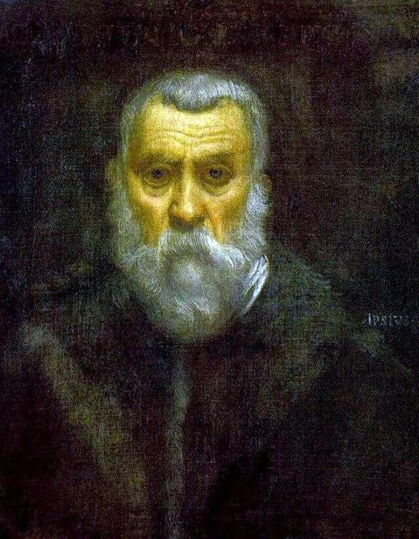 自画像   Jacopo Tintoretto