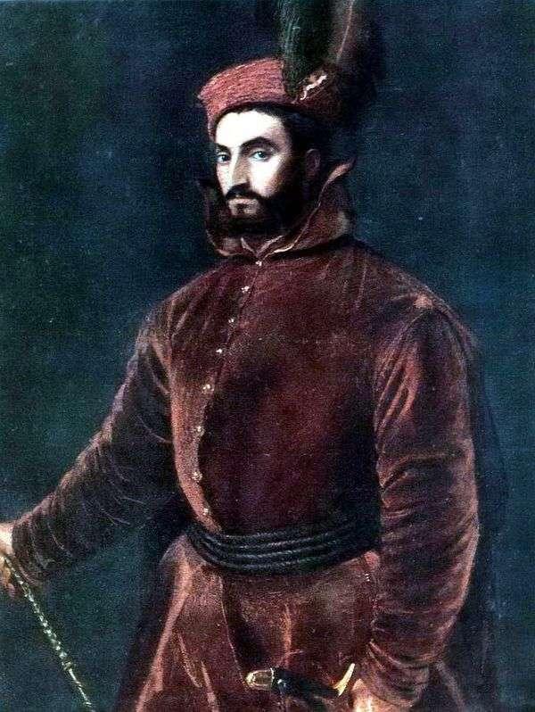 红衣主教Ippolito de Medici   提香Vecellio的肖像